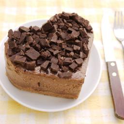 Easy cocoa cheesecake