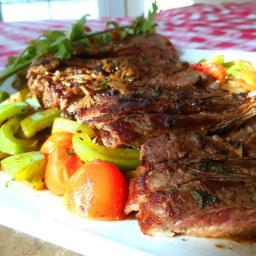 Easy Company Garlic Steak