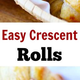 Easy Crescent Rolls Recipe