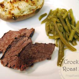 Easy Crock Pot Beef Roast