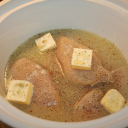 Easy Crock Pot Lemon Chicken