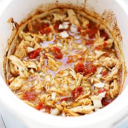 Easy Crock Pot Salsa Verde Chicken