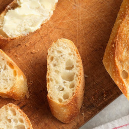 Easy Crusty Baguettes
