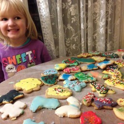 Easy Cut-Out Gluten Free Christmas Cookies