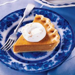 Easy Eggnog Pumpkin Pie