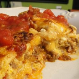 Easy Enchilada Lasagna