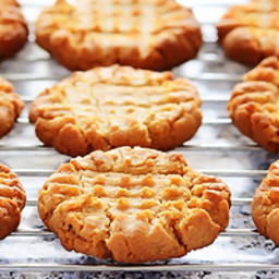 Easy Flourless Peanut Butter Cookies