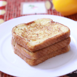 Easy French Toast recipe | French Toast Recipe for 2 with Eggs