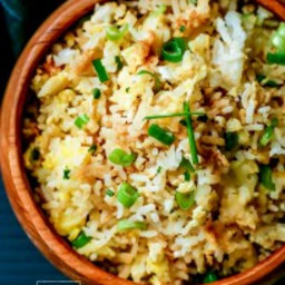 Easy Fried Rice Recipe with Green Onion