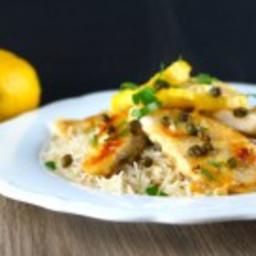 Easy Gluten Free Lemon Chicken Piccata