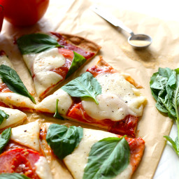 Easy Gluten-Free Margherita Pizza