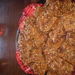 Easy Graham Toffee Bars