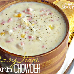 Easy Ham n' Corn Chowder