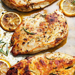 Easy Healthy Baked Lemon Chicken