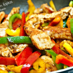 Easy Healthy Chicken Fajitas
