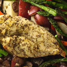 Easy Herb-Roasted Chicken and Vegetables