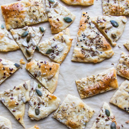 easy home made flatbread crackers