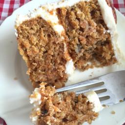 Easy Homemade Carrot Cake