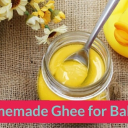 Easy Homemade Ghee Recipe for Babies