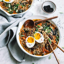 Easy Homemade Healthy Ramen