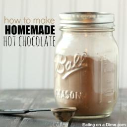Easy Homemade Hot Chocolate Mix