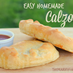 Easy Homemade Pizza Calzones