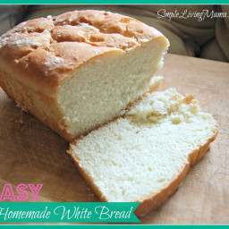 Easy Homemade White Bread