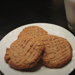 Easy Keto Peanut Butter Cookies