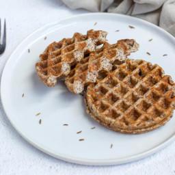 Easy Keto Rye Bread Chaffles Recipe