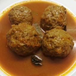 Easy Kofta Curry Recipe|Meatballs |