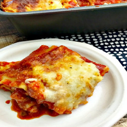 Easy Lasagna Recipe {Casserole Recipes}