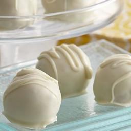 Easy Lemon Cookie Truffles
