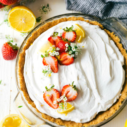 Easy Lemon Pudding Pie