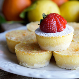 Easy Lemon Tangelo Tarts