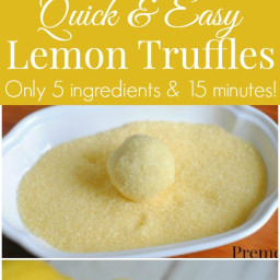 Easy Lemon Truffle Recipe