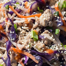 Easy Low Carb Crack Slaw ready in 20 minutes - Keto & Whole30