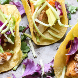 Easy Mahi Mahi Tacos [ + 5 more creative recipes for your next taco party!
