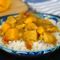 Easy Mango Chicken Curry
