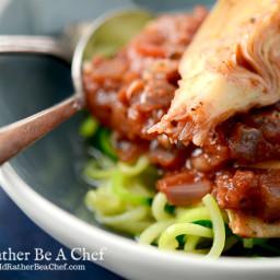 Easy Marinara Sauce with Pepperoni