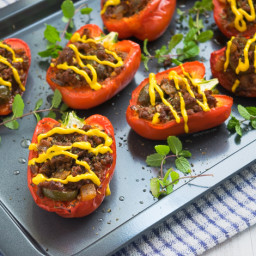 Easy Mexican Stuffed Bell Peppers