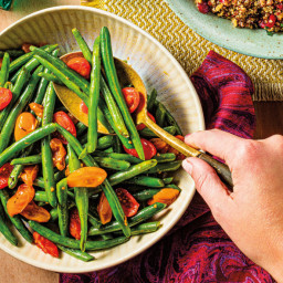 Easy Middle Eastern Green Beans