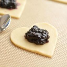 Easy Mini Blueberry Pies
