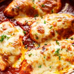 Easy Mozzarella Chicken (Low Carb Chicken Parma)