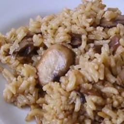 Easy Mushroom Rice Recipe