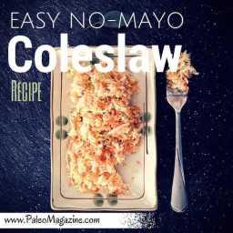 Easy No-Mayo Coleslaw Recipe (AIP and Paleo)