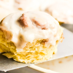 Easy No-Yeast Cinnamon Rolls