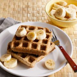 Easy Oat Waffles
