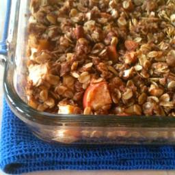 Easy Oatmeal Apple Crisp