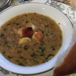 Easy Onion Soup with Stilton