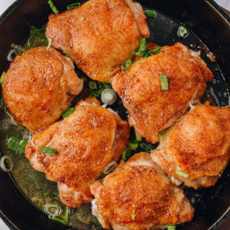 Easy Oven Baked Asian Dry Rub Chicken